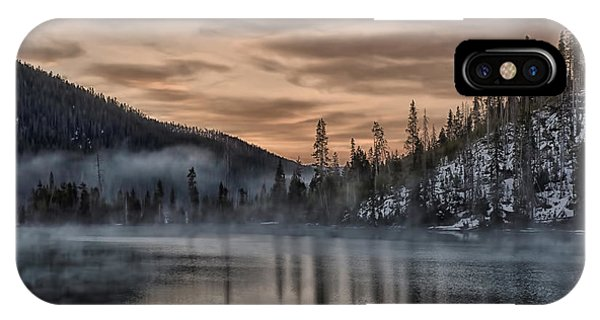 Early Morning Yellowstone IPhone Case