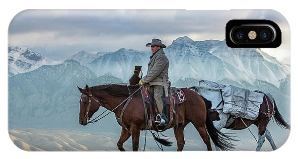 Early October Hunt Wild West Photography Art By Kaylyn Franks IPhone Case