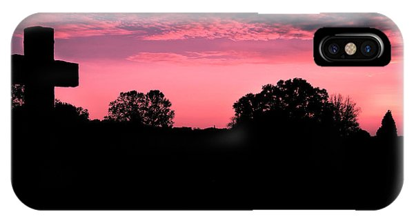 Early On The Hill IPhone Case