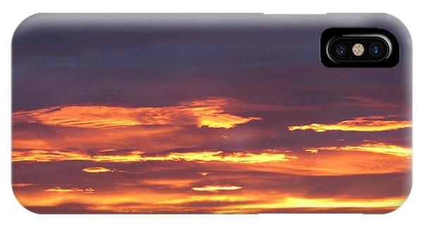 Early Prairie Sunrise IPhone Case