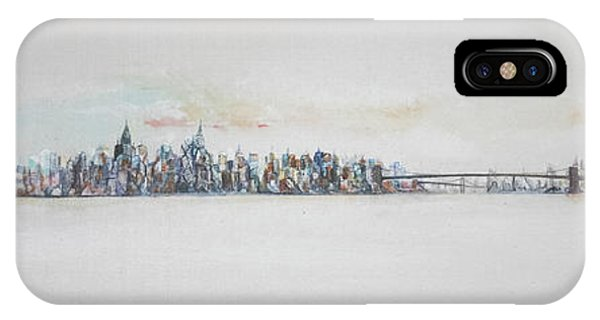 Early Skyline IPhone Case