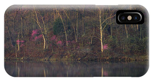 Early Spring Lake Shore IPhone Case