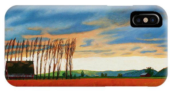 Early Spring, Skagit Valley IPhone Case