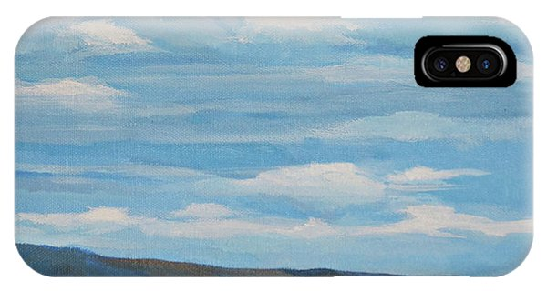Early Summer Blue Hills IPhone Case