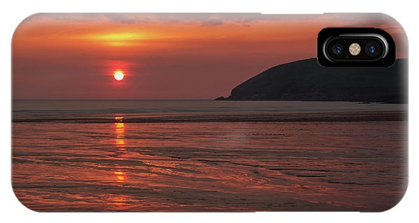 Early Summer On Croyde Beach In N Devon IPhone Case