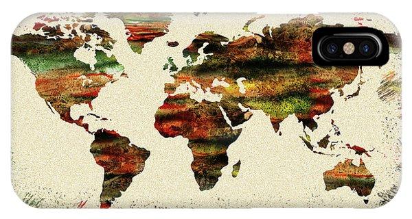 Earthy iPhone Case - Earth And Color by Irina Sztukowski