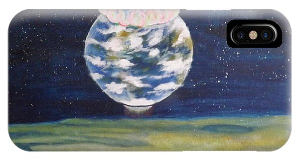 Earth Aura IPhone Case