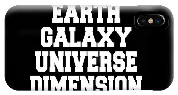 Earth Galaxy Universe Dimension IPhone Case