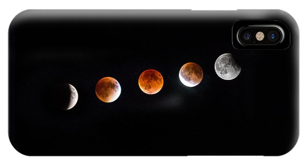 Astro iPhone Case - Earth Shadow  by Aaron J Groen