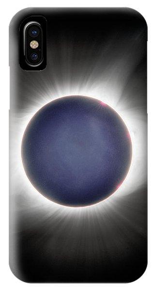 Earth-shine IPhone Case