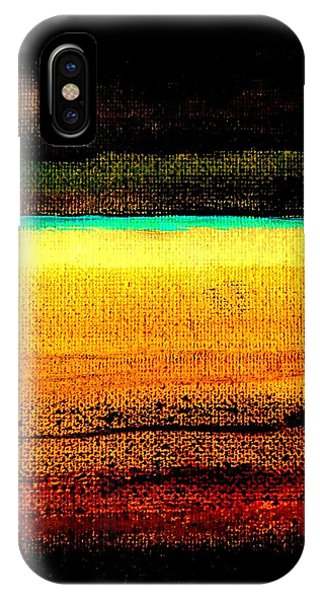 IPhone Case featuring the painting Earth Stories Abstract by VIVA Anderson