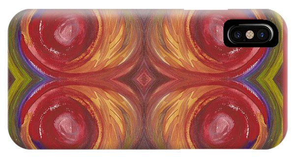 Earth Storm Quad IPhone Case