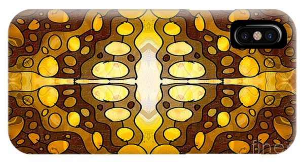Earthly Awareness Abstract Organic Artwork By Omaste Witkowski IPhone Case