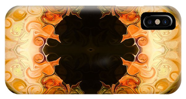 Earthly Undecided Bliss Abstract Organic Art By Omaste Witkowski IPhone Case