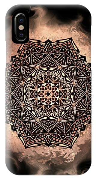 Earthy Mandala IPhone Case