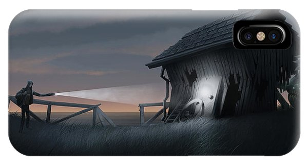 Barn iPhone Case - East Coast Fear by Matt Akin