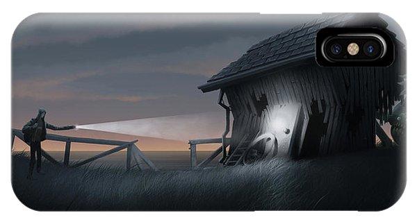 Barn iPhone Case - East Coast Fear by Matt Akin