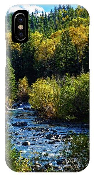 East Fork Autumn IPhone Case