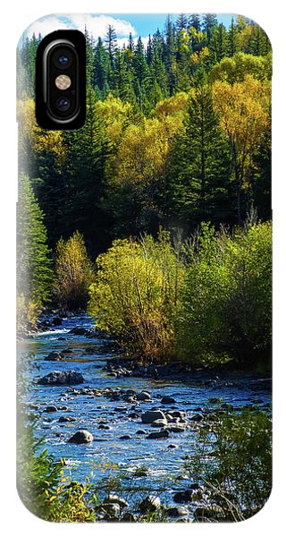 IPhone Case featuring the photograph East Fork Autumn by Jason Coward
