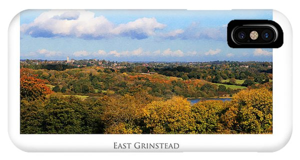 East Grinstead IPhone Case