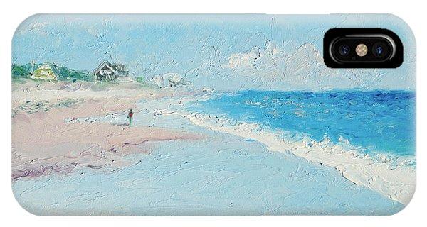 East Hampton Beach IPhone Case