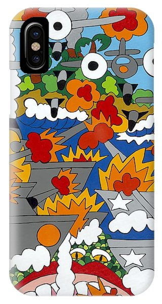 East Meets West IPhone Case