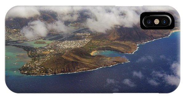 East Oahu From The Air IPhone Case