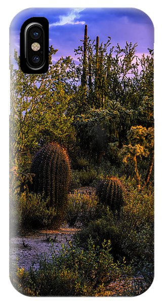 IPhone Case featuring the photograph East Of Sunset V40 by Mark Myhaver