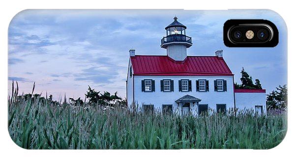 East Point At Twilight IPhone Case