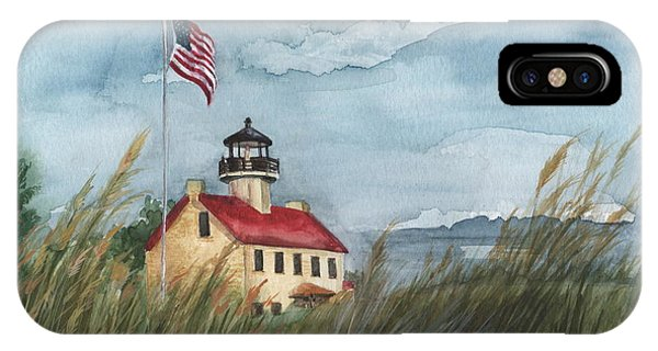 East Point Lighthouse IPhone Case