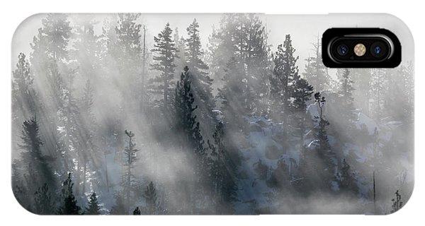 East Shore Inversion, Lake Tahoe IPhone Case