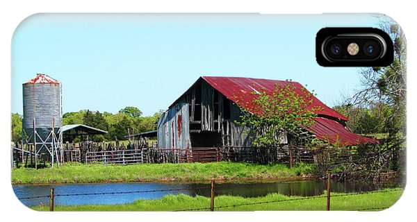 East Texas Barn IPhone Case