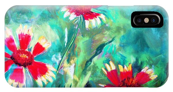 East Texas Wild Flowers IPhone Case
