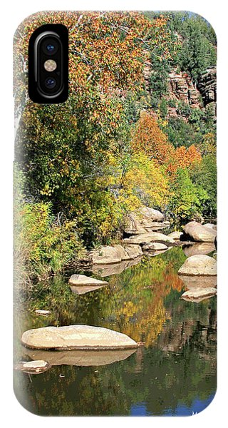 East Verde Fall Crossing IPhone Case