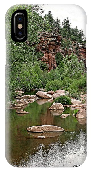 East Verde Spring Crossing IPhone Case