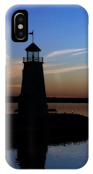 East Warf Sunset IPhone Case