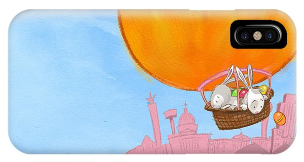 Easter Balloon IPhone Case
