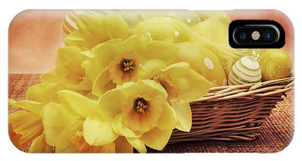 Easter Basket IPhone Case