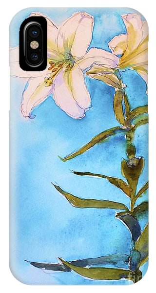 Easter Lily IPhone Case