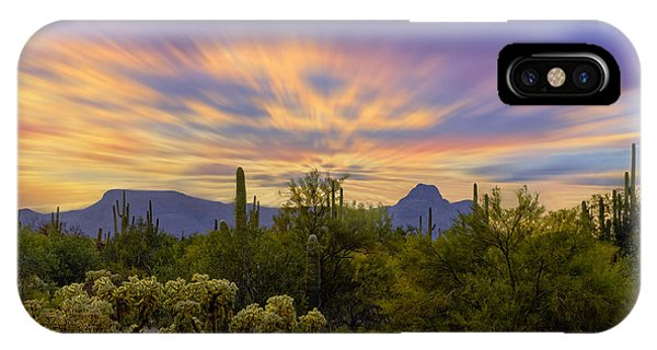IPhone Case featuring the photograph Easter Sunset H18 by Mark Myhaver