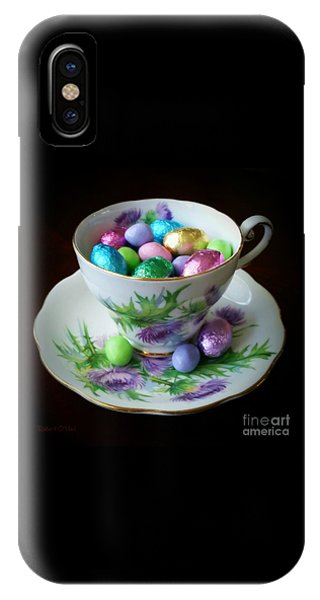 Easter Teacup IPhone Case