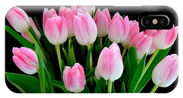 Easter Tulips  IPhone Case