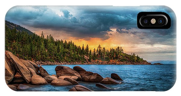 Dusk iPhone Case - Eastern Glow At Sunset by Anthony Bonafede