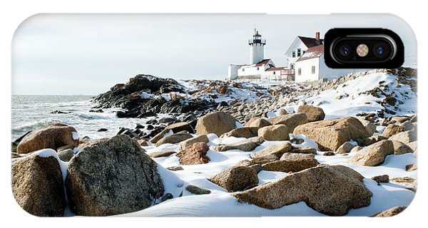 Eastern Point Light II IPhone Case