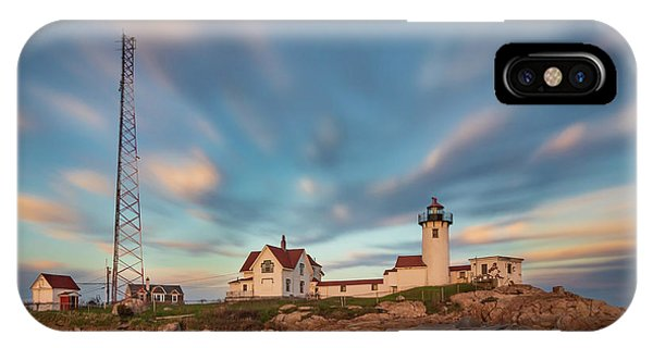 Eastern Point Lighthouse At Sunset IPhone Case