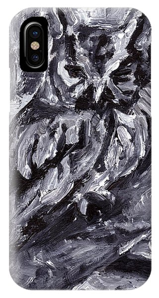 Eastern Screech-owl IPhone Case