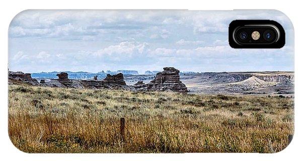 Eastern Wyoming Sky IPhone Case