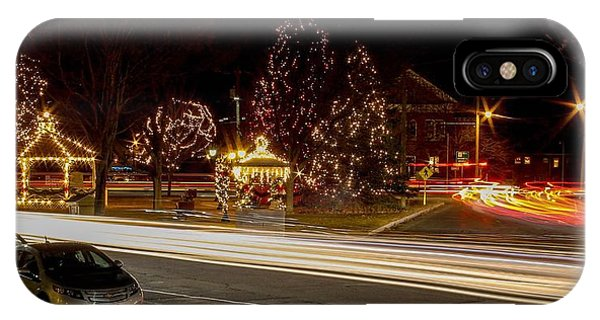 Easthampton Light Trails IPhone Case