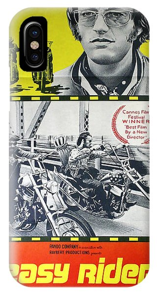 Easy Rider Movie Lobby Poster  1969 IPhone Case