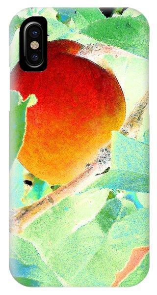 Eat A Peach IPhone Case